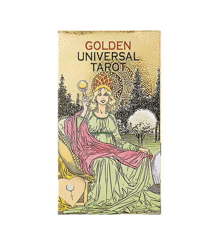 Golden Universal Tarot Card Deck - Gold One Size at Urban Outfitters