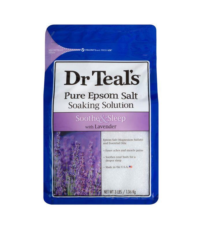 Dr. Teal's Epsom Salt Soothe & Sleep Lavender Soaking Solution