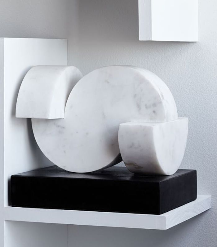 West Elm Rounded Marble Object 10