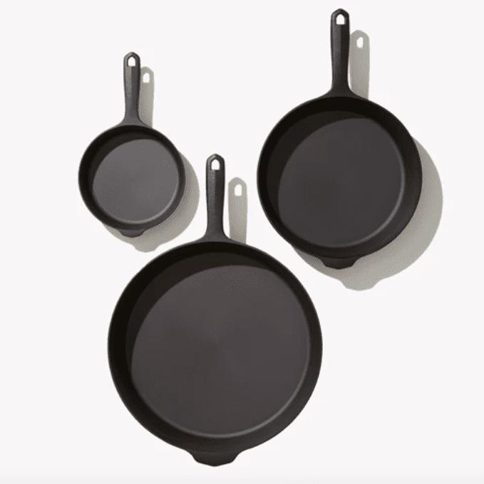 Field Company Three-Piece Cast Iron Cookware Set