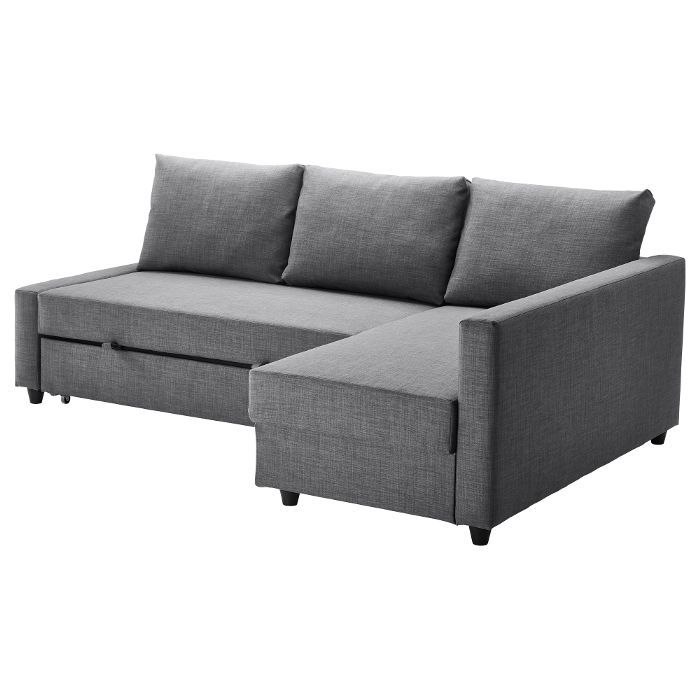 IKEA FRIHETEN Sleeper Sectional, 3 seat with storage