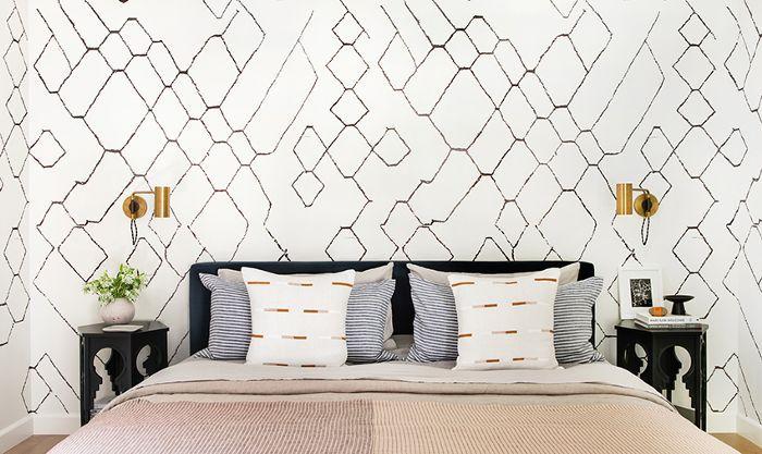 master bedroom—wallpaper ideas