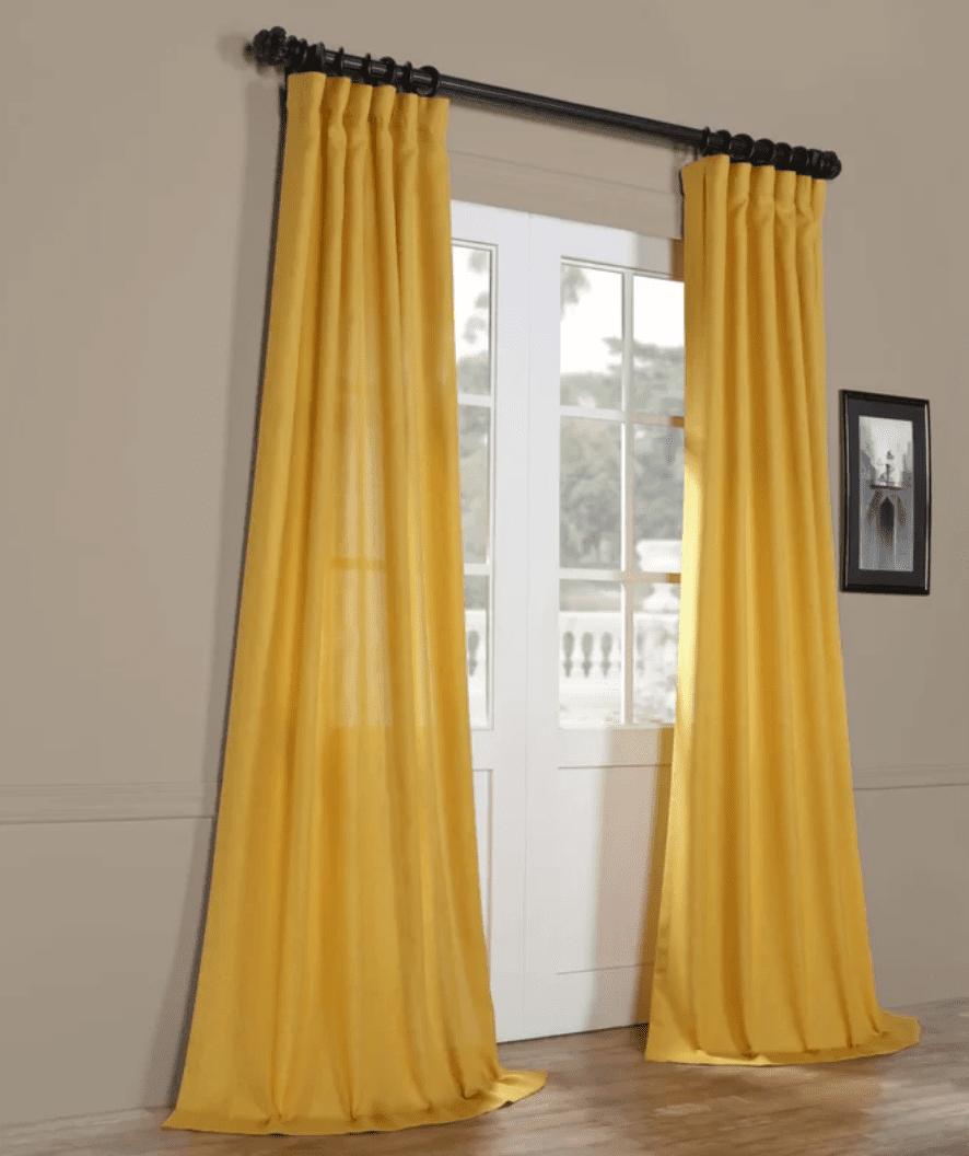 Brittnie Faul Linen Curtain