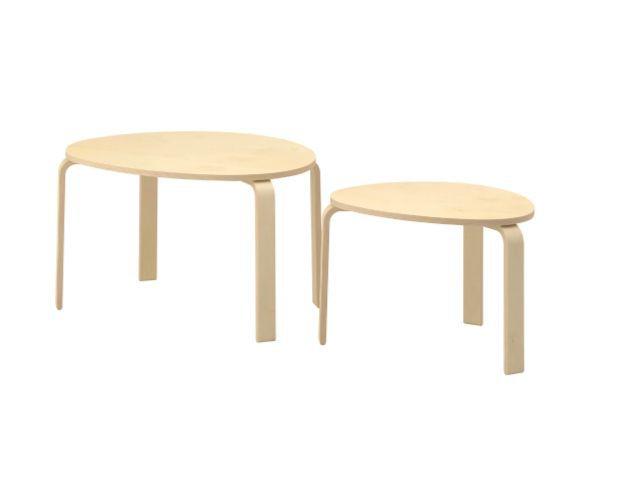 Mesas de anidamiento IKEA Svalsta