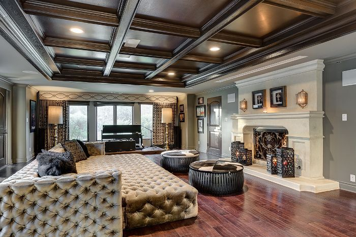Inside The Makeover Of Tish And Billy Ray Cyrus L A Home