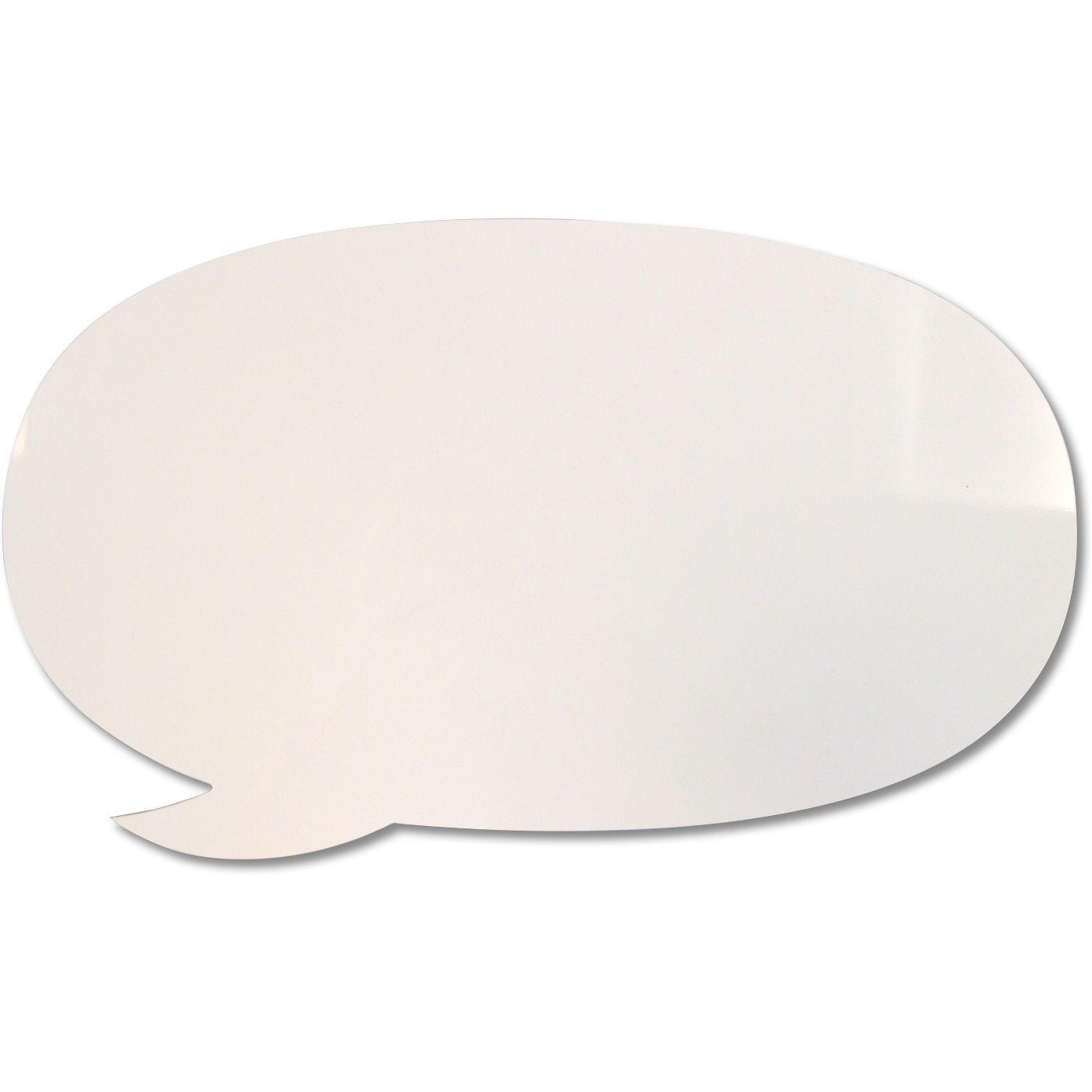 Dry Erase Board Speech Bubble