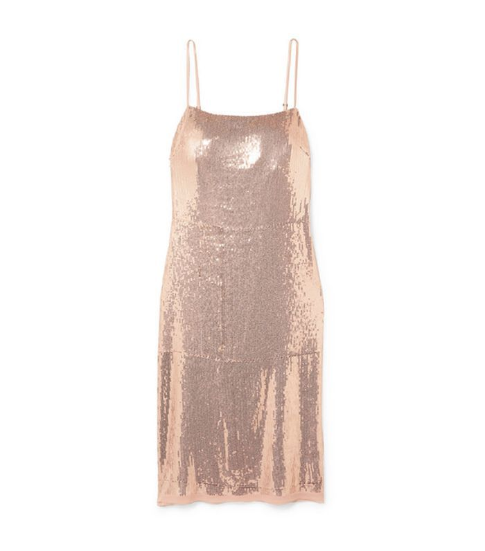 Jason Wu Grey Sequined Stretch-Jersey Dress