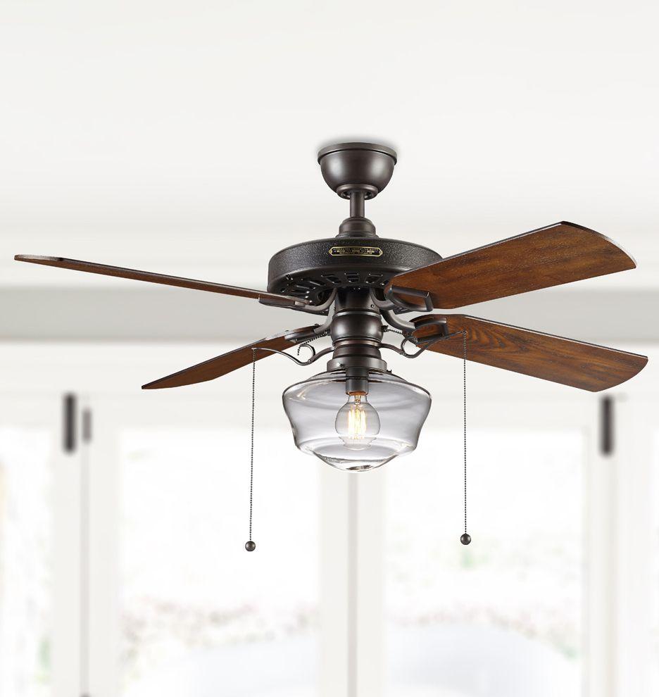 Rejuvenation Heron Ceiling Fan