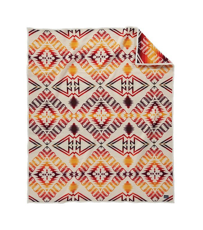 Pendleton throw — lake house decorating