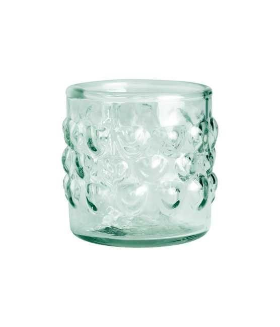 Clear Glass Tealight Holder