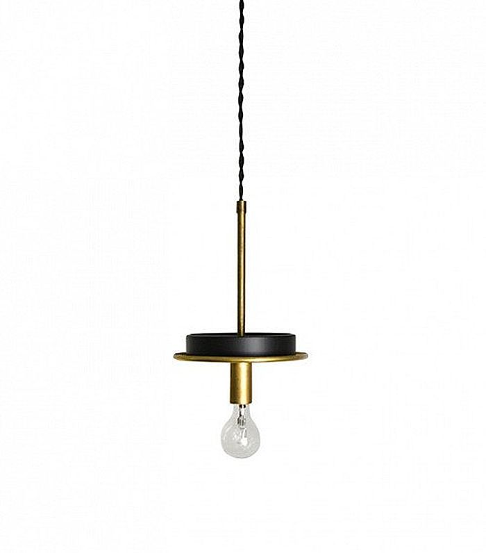 Triple Seven Home Gitan Brass Pendant Light