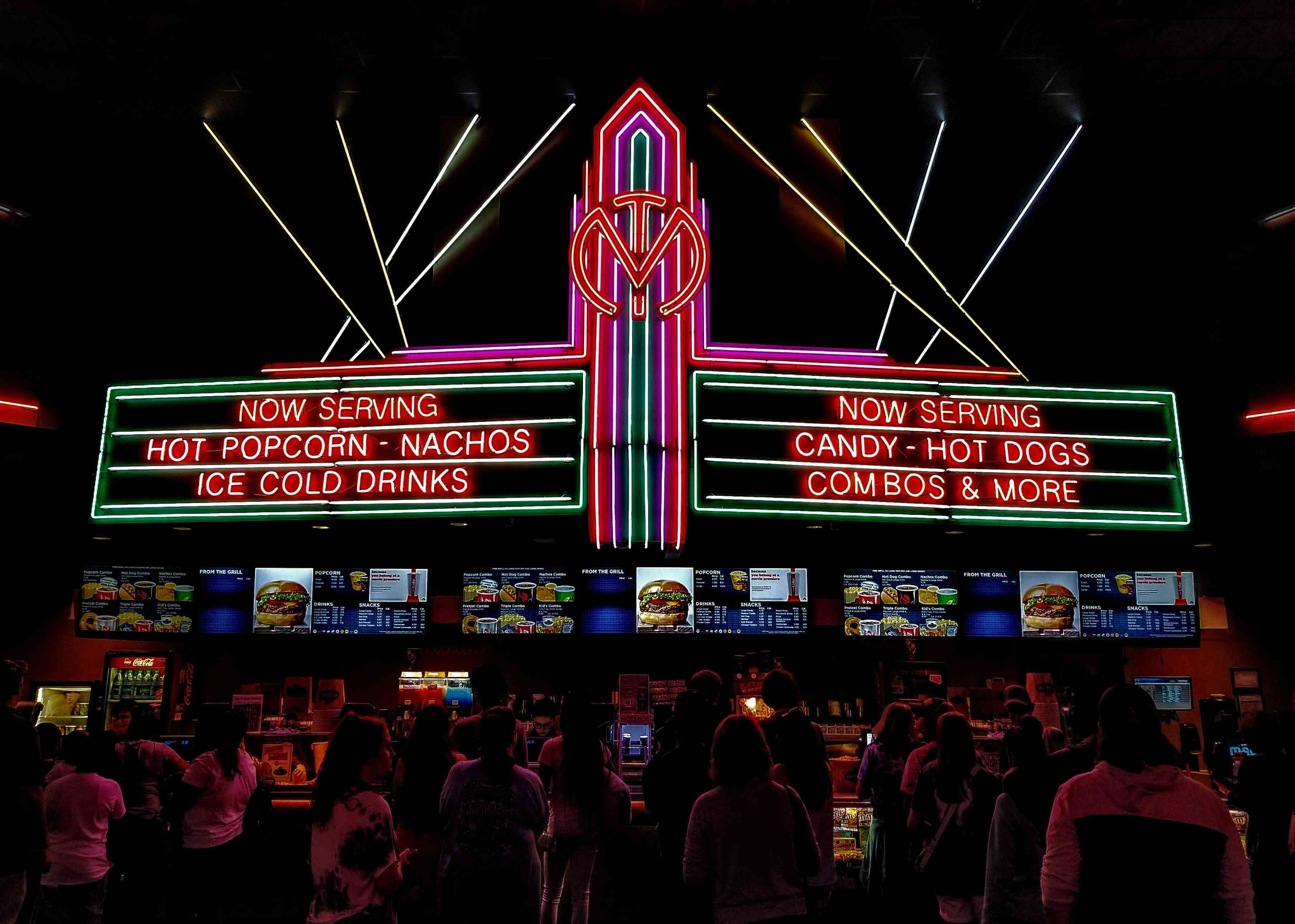 adult birthday party ideas - go to a movie theater