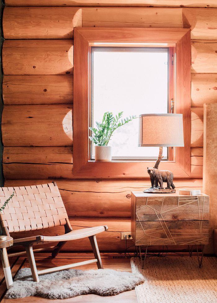 Modern cabin furnishings