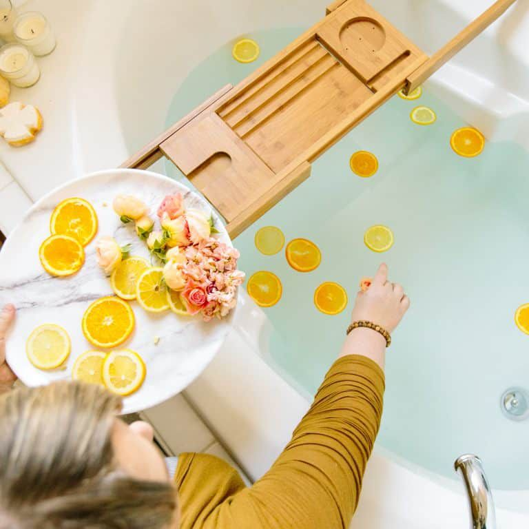 things to do when bored - take a bath