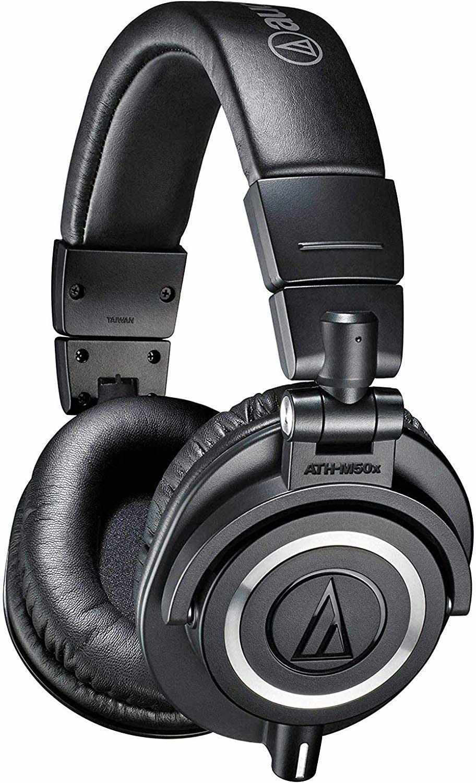 ATH-M50x Professional Studio Monitor Headphones