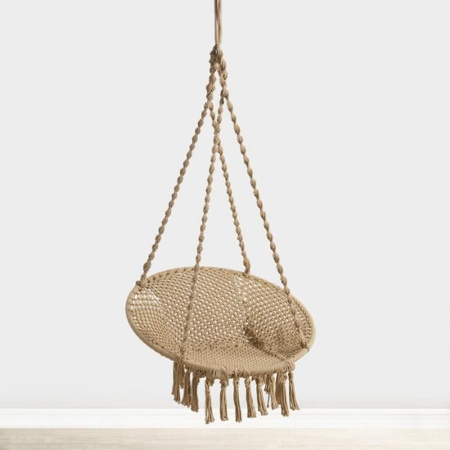 Cost Plus World Market Natural Jute Hanging Chair