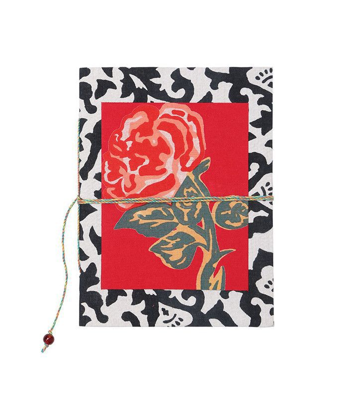 Lisa Corti Floral and Damask Notebook