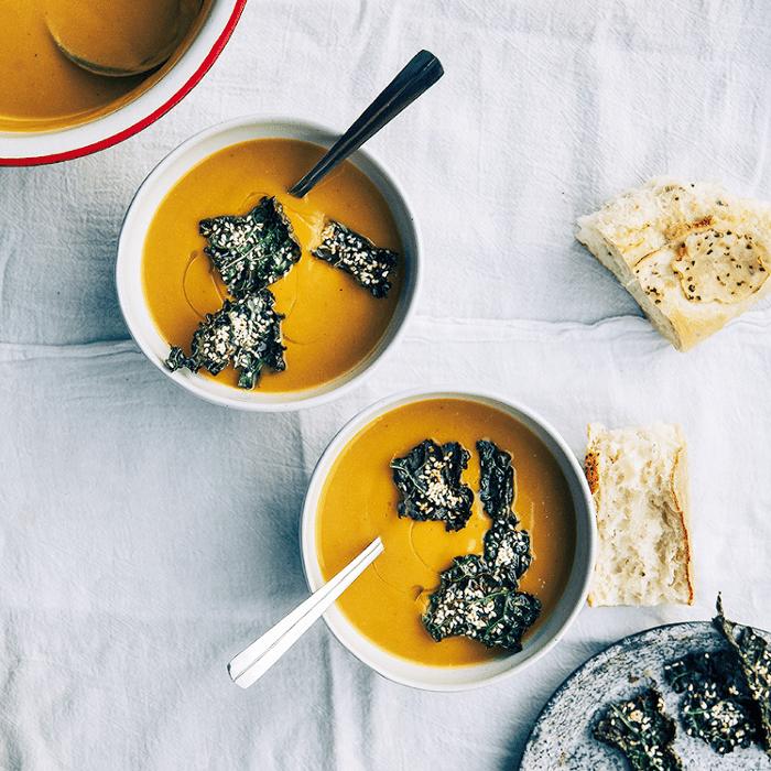 Sopa de calabaza de otoño