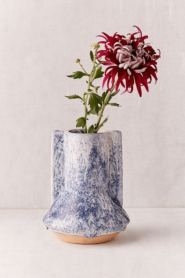 Carina Marbled Wing Vase