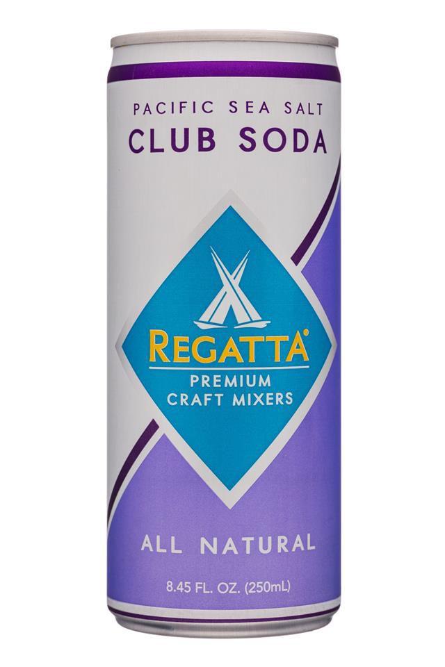 A can of club soda.
