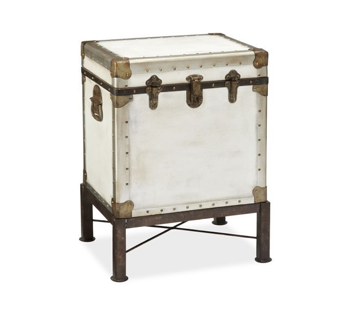 Ludlow Trunk with Stand End Table