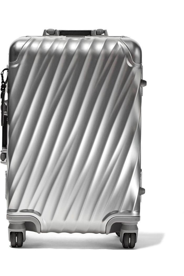 International Carry-On Aluminum Suitcase