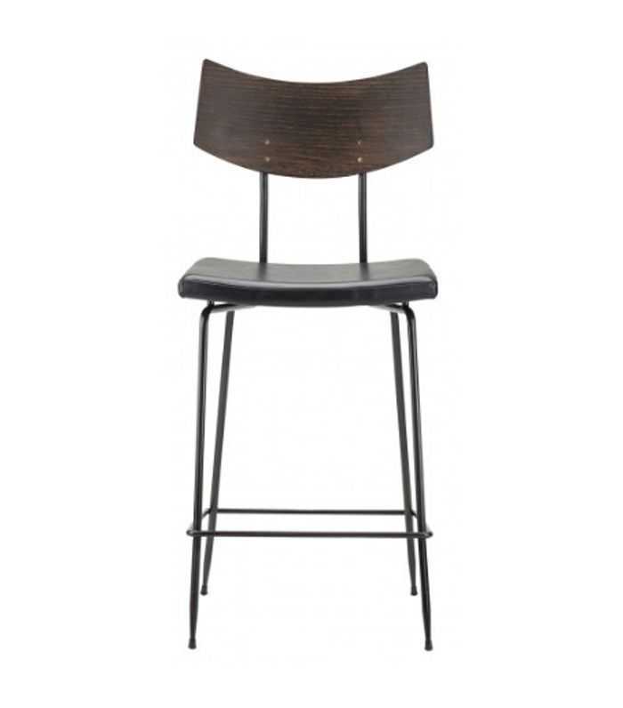 Kamlyn Counter Stool, Black