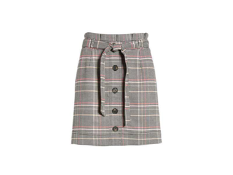 Love, Fire Button Front Skirt