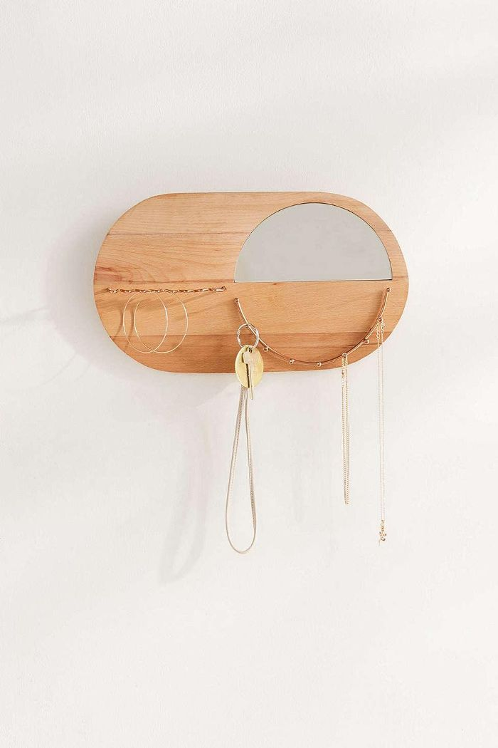 Urban Outfitters Layla Wall Mounted Jewelry Storage