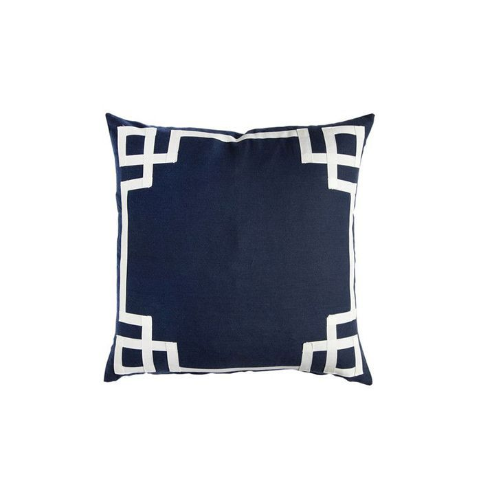 Caitlin Wilson Navy Deco Pillow
