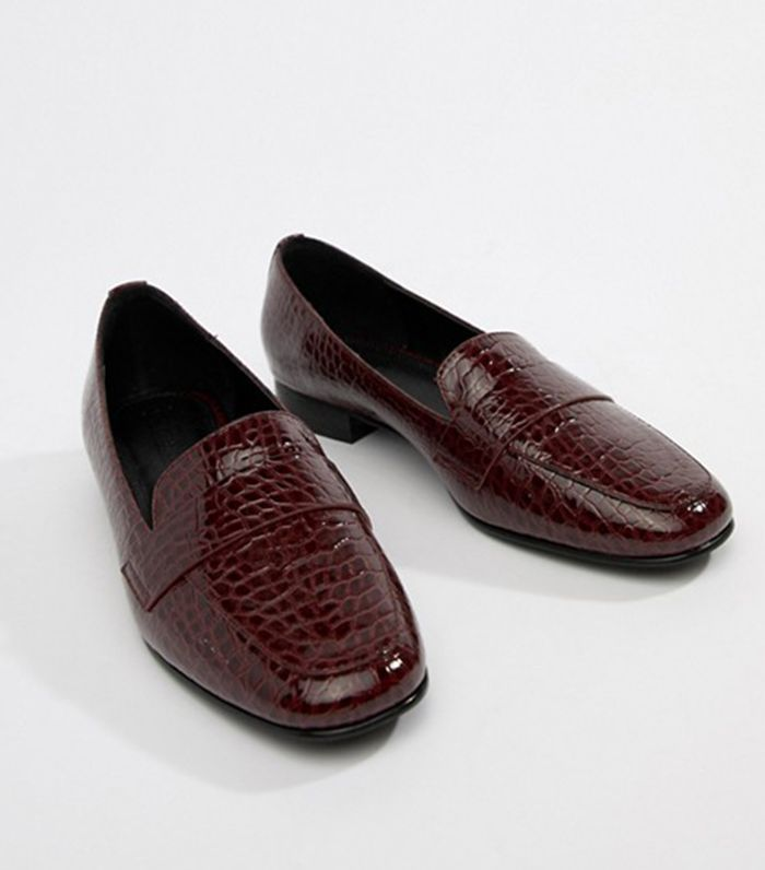 Milestone loafer flat shoes