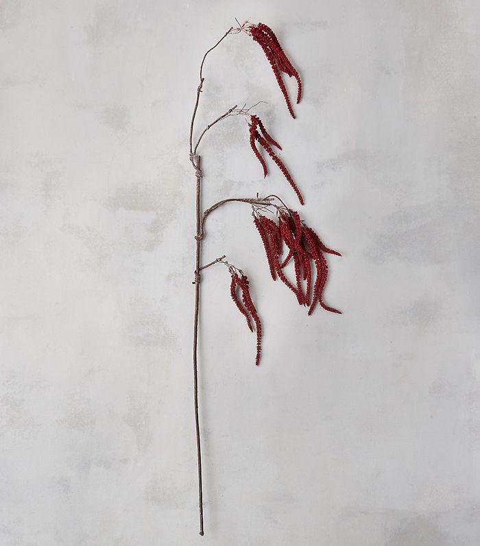 Terrain Faux Crimson Amaranth Spray