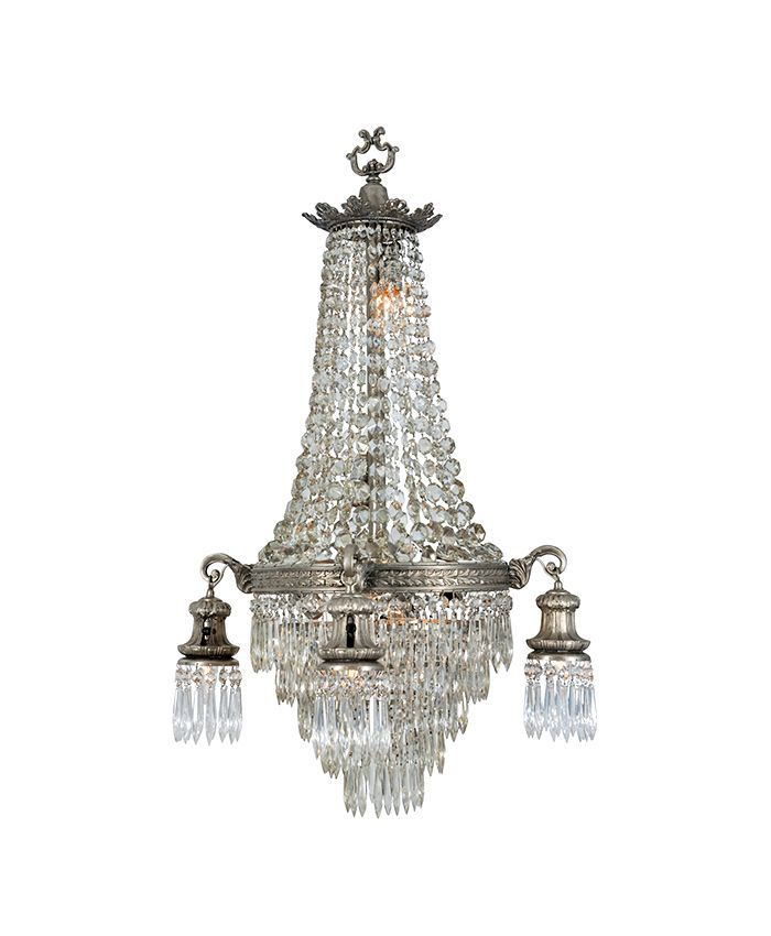 1st Dibs Eight-Light Baroque Chandelier