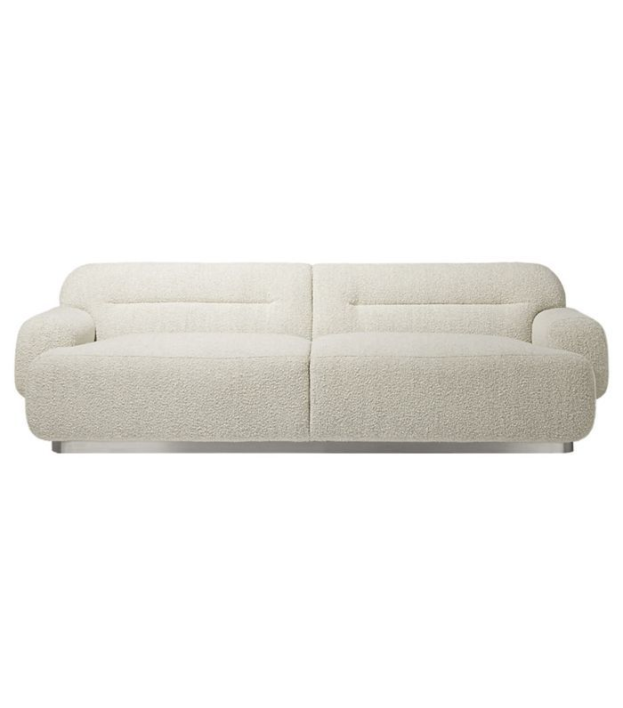 Logan Grey Boucle Sofa
