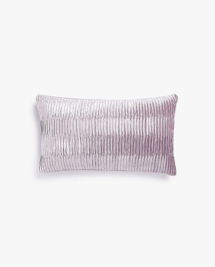 Zara Home Pleated Velvet Pillow Cover