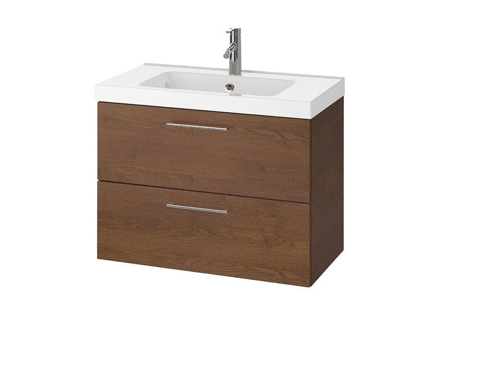 Godmorgon odensvik bath cabinet