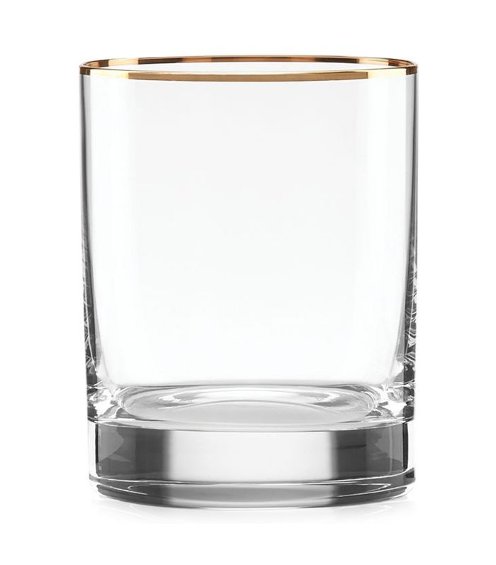 Lenox Timeless Gold Signature Double Old Fashioned Glass