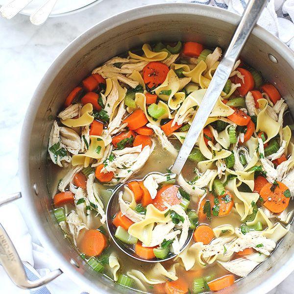 The Best Crockpot Chicken Noodle Soup Recipe