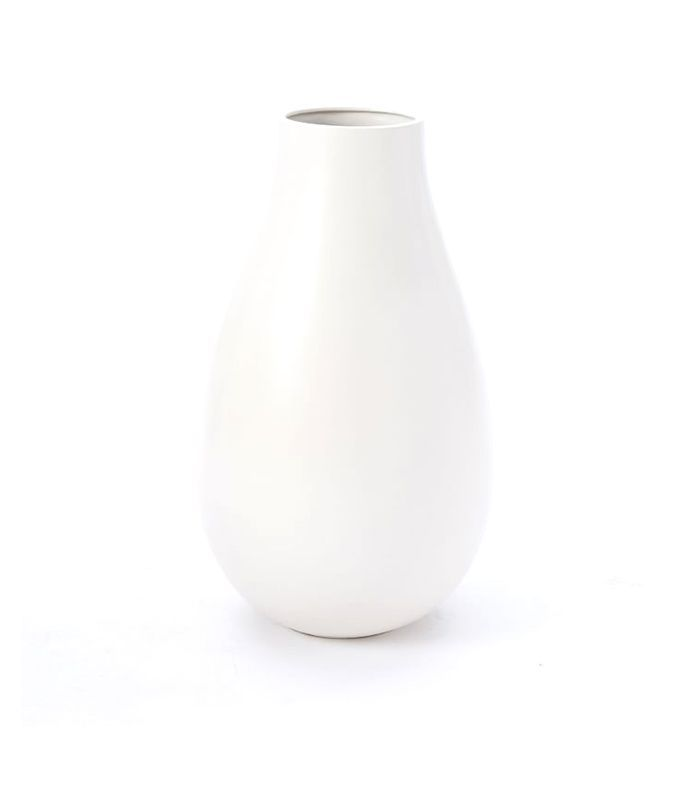 Pure White Ceramic Carafe