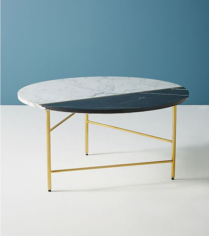 Pieced Marble Coffee Table