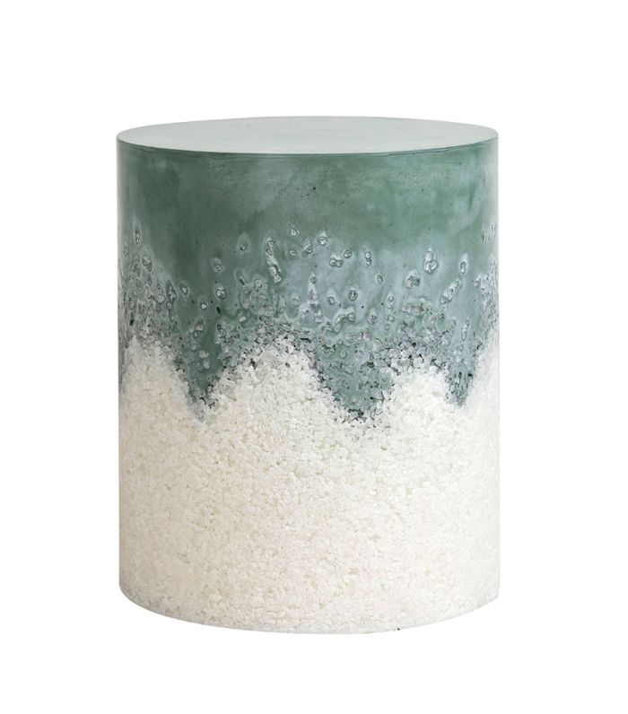 Fernando Mastrangelo Hunter Cement and White Rock Salt Drum