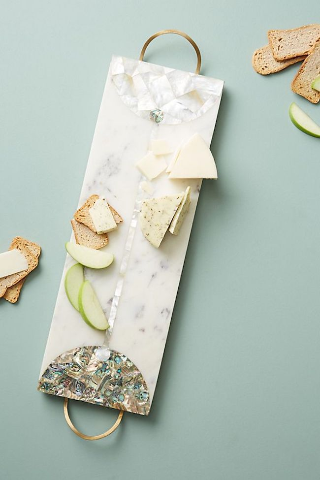 Anthropologie cheese board