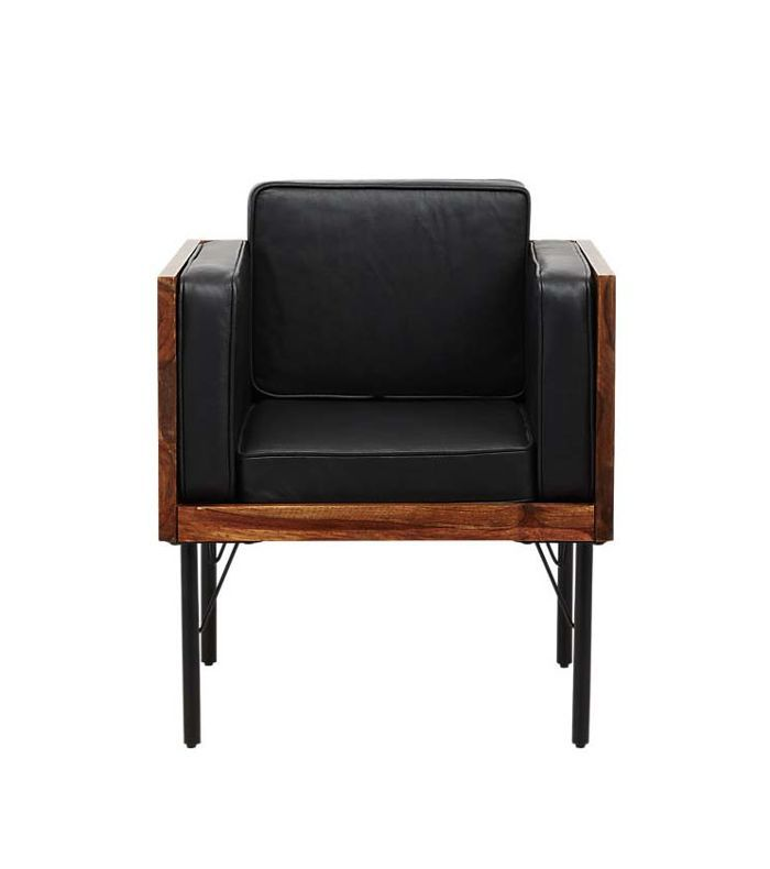borough leather chair
