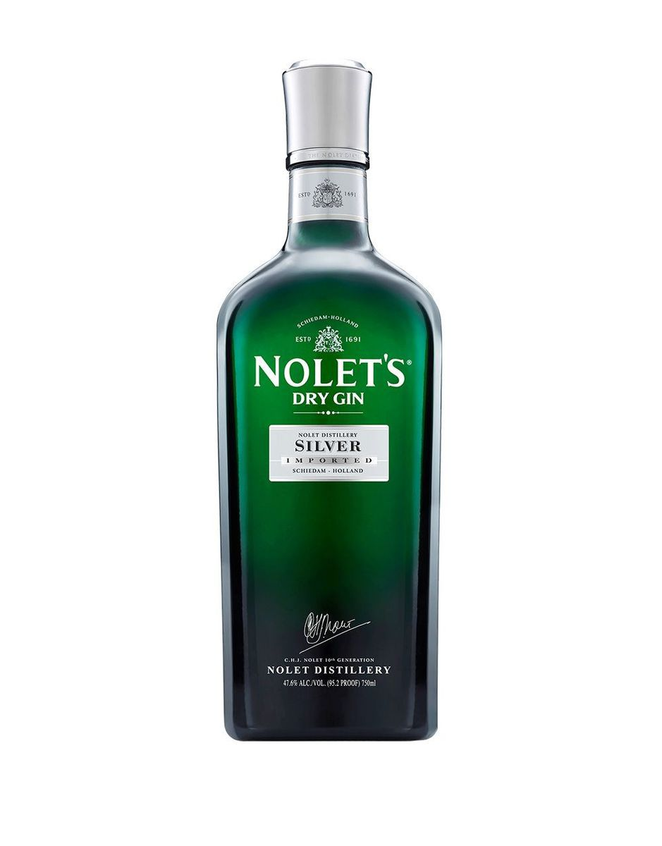Bottle of Nolet's Silver Dry Gin