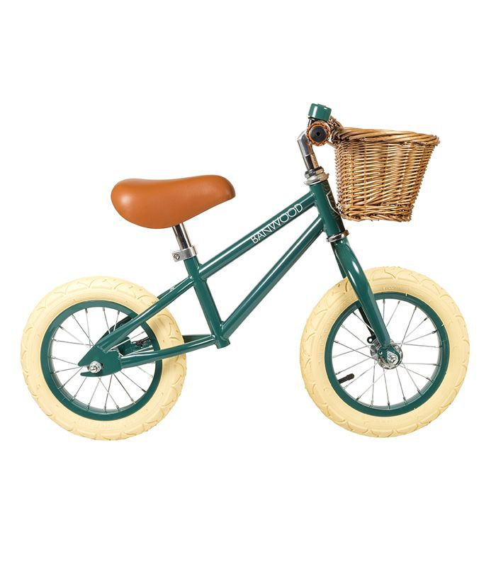 Bawnood First Go Push Bike Green