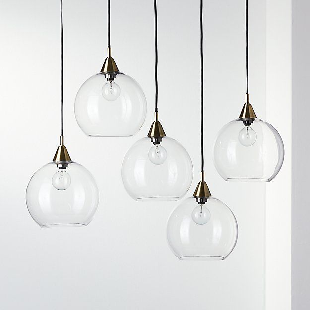 CB2 Firefly 5 bulb pack pendant light