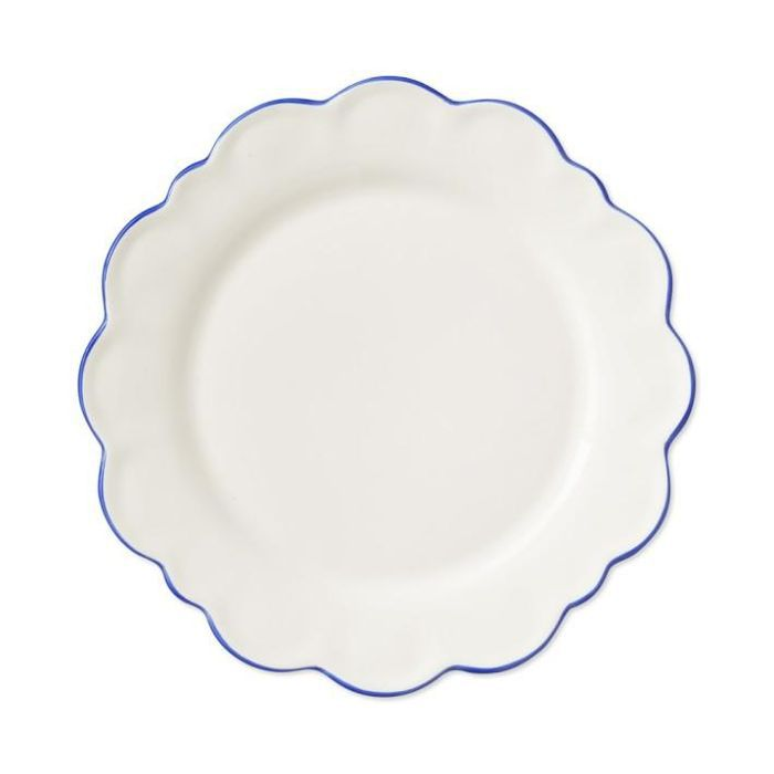 AERIN Scalloped Rim Salad Plates