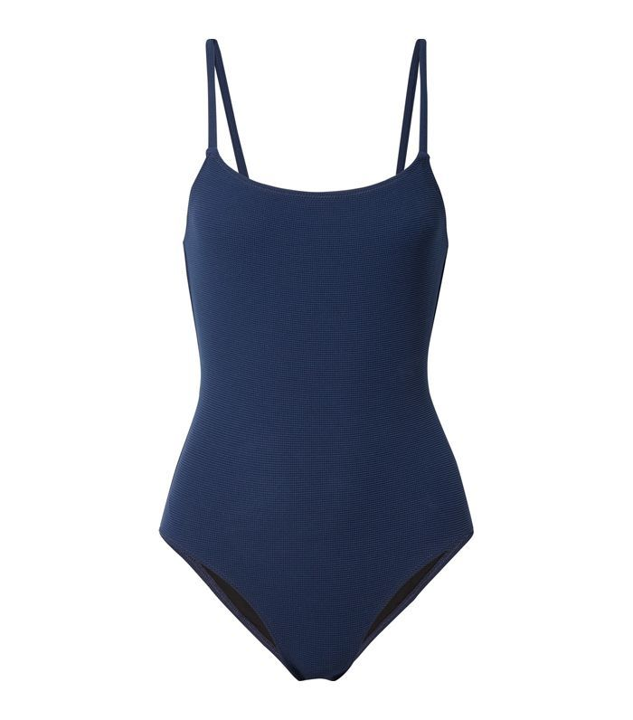 The Nina Stretch-piqué Swimsuit