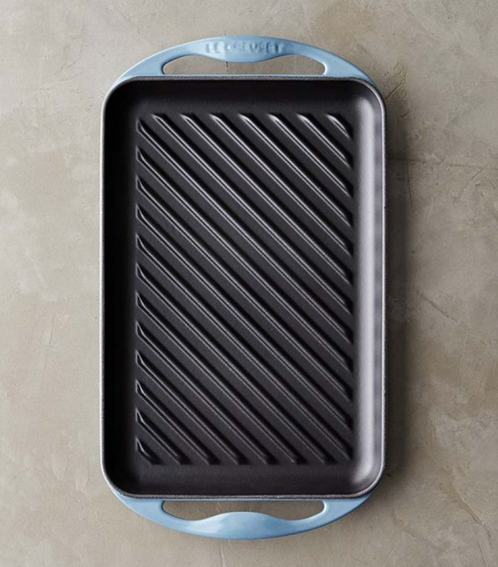 Le Creuset Cast-Iron Rectangular Skinny Grill