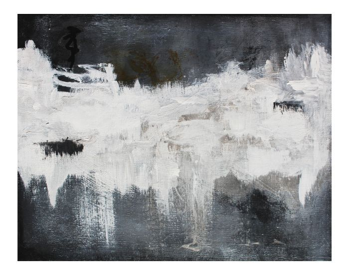 Chairish Blackwater Abstract Art Canvas